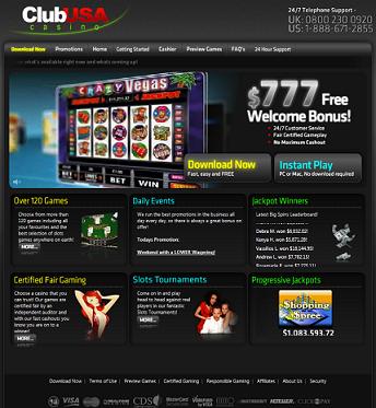 Club usa casino review tacoma casino